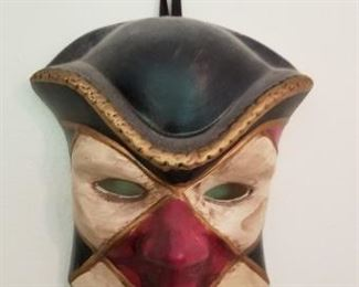 #143 unsigned porcelain mask 6.5 x 4.5  $10