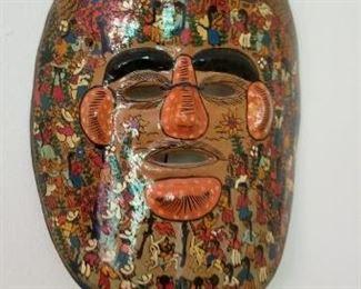 #144 porcelain mask concepcion 8.5 x 7.5   $5