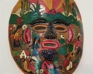 # 143 porcelain mask concepcion 8.5 x 7.5  $5