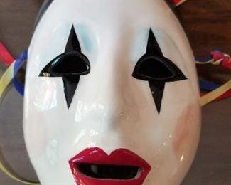##141 poecelain mask C. cohen 8x5   $7