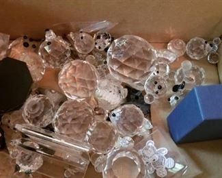 #133 swarovski crystal bear parts  $40