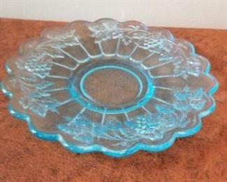 #100 glass dish 6 inch diameter  $5
