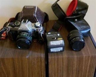 #12  camera lot Canon. $10