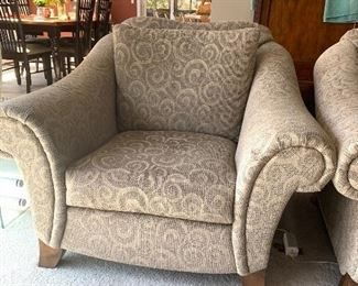 """Lazy Boy - American Home Collection   2 side chairs  36""""h X 44""""w X 41""""d   pair $680.  w/matching couch"""