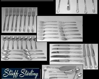Stieff Sterling Silver service.