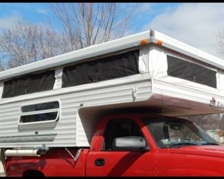 Sunlite Popup Camper.  Truck and Camper priced separately.  You can buy one or both.