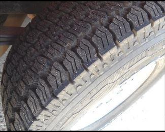 Like New Tires.  Also New Brakes .