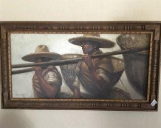 Large Original painting by  Noel Espinoza
