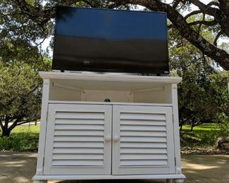 """40"""" Vizio TV and Topfame TV Cabinet"""