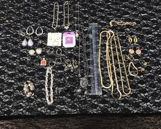 Costume jewelry (included with armoire)