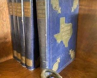 Vintage Fighting Men of Texas books
