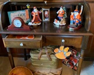 Nice little secretary and a great collection for the Clemson fans.