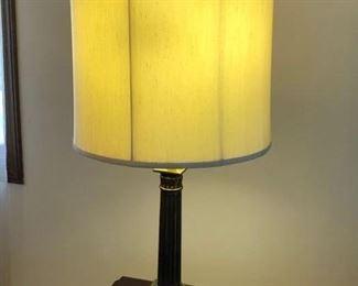 Brass lamp - $35