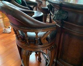 Thomasville bar stools (4)