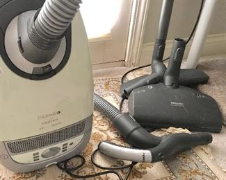 Miele Vacuum and attachments