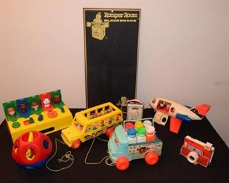 Vintage 70's Era Preschool Toy Collection #1 https://ctbids.com/#!/description/share/410995