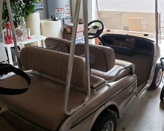 NICE NICE Western Brand Double Seater Golf Cart   $2750