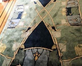 """Guildcraft Carpets CFA Voysey Rug - 90"""" x 60"""" $825 (orig. $1100)"""