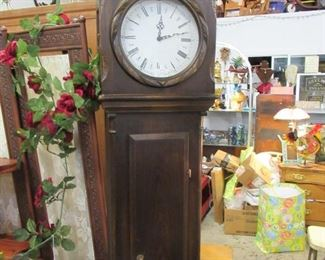 German Movement Grand father Clock