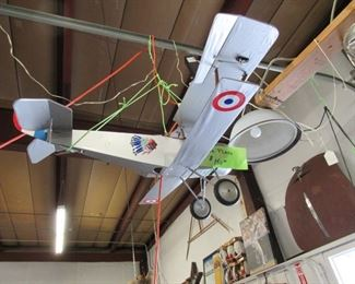 Airplane look good in man cave or hanging in your garage