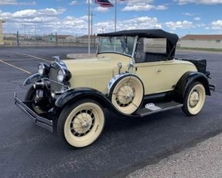 1929 Ford Model A Shay Reproduction