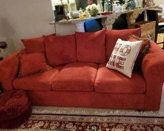 Pair of matching sofas