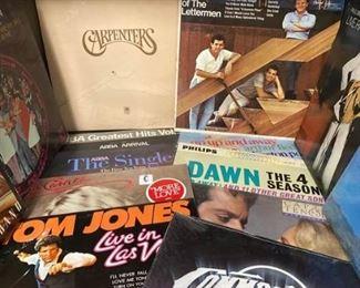 Assorted rock albums https://ctbids.com/#!/description/share/413066