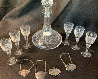 Vintage Decanter with six matching cordials https://ctbids.com/#!/description/share/409597