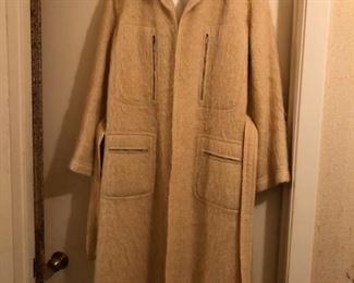 J. Tiktiner Mohair Coat - US size 8.  Amazing condition, fully lined with double lining.