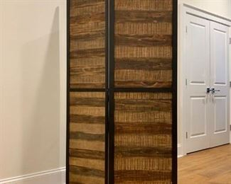 Three Panel Room Divider. Find the FULL LISTING, Prices and MAKE AN OFFER, on our website, www.huntestatesales.com