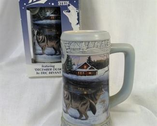 Set of 2 Miller 1999 holiday steins