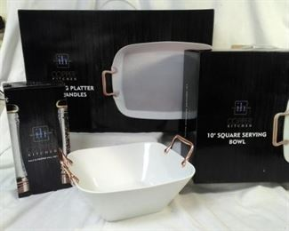 Inspired HOme three piece serving ware