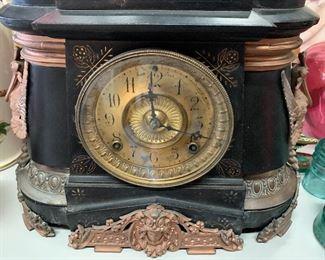 $99 Marble / Bronze Vintage Clock