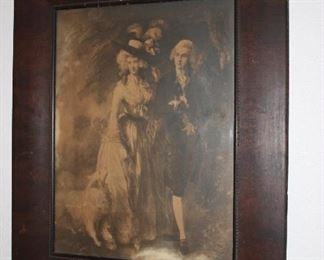 Large Victorian Picture