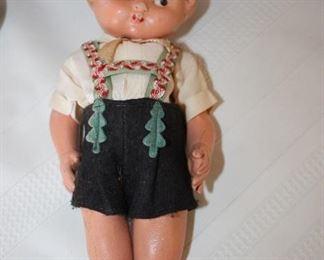 Antique Kewpie Doll