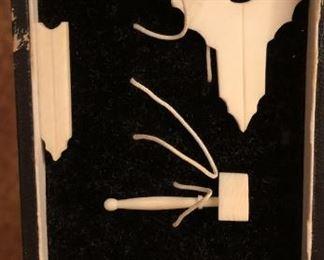 Item 65: Antique Miniature Masonic Tools Set  $75