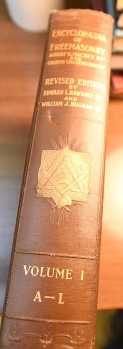 Item 66: Encyclopedia of Freemasonry Vol. 1.  $15