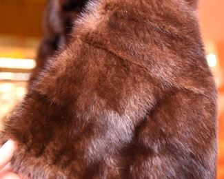 ITEM 113: Vintage Mink Bolero Jacket  $195  Small size - maybe 4 or 6. Excellent condition