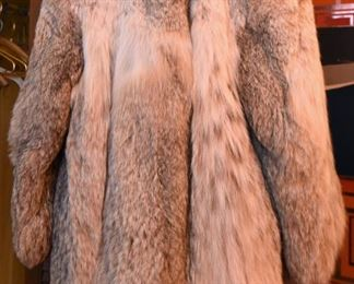 ITEM 114: Vintage Lynx Fur Coat  $245  Small size - maybe 4 or 6. Excellent condition