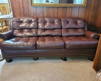 Hancock & Moore Fine Leather Couch