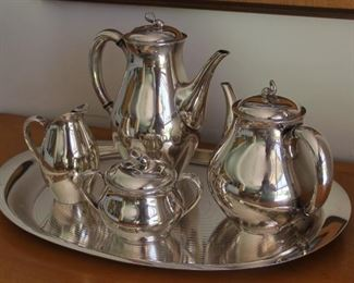 #5 Reed Barton silverplate teaset tray is Achievement community silverplate  $80.00