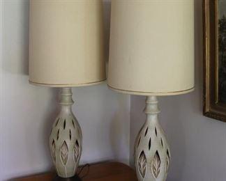 #23 pair lamps $1,000.00 Classic!