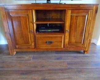 "Walter solid wood TV cabinet/console 54 x 16 x 32"" https://ctbids.com/#!/description/share/409672"