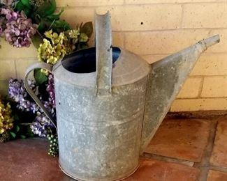 #5 Large Vintage Watering Can $35