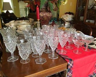 Fostoria Glassware - $200 / set