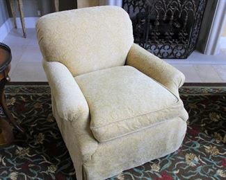 """#4 INDIVIDUAL- CENTURY ARMCHAIR  (#2 BOTH PICTURED)                                                                                                                          32"""" HEIGHT/36""""WIDE                                                                                        $375"""