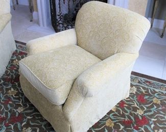 """#5 INDIVIDUAL-CENTURY ARMCHAIR (#2  BOTH PICTURED)                                                                                                                32""""HEIGHT/36""""WIDE                                                                                         $375"""