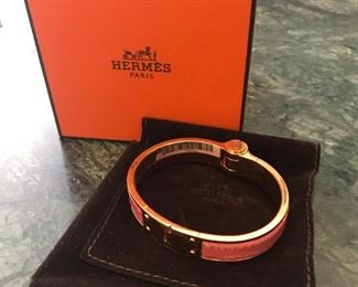 Hermes thin cuff, this price is $520.