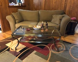 Ashley Co. Sofa / Coffee Table