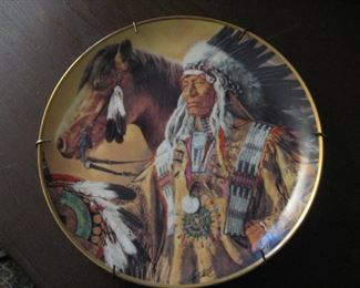 Native American plates